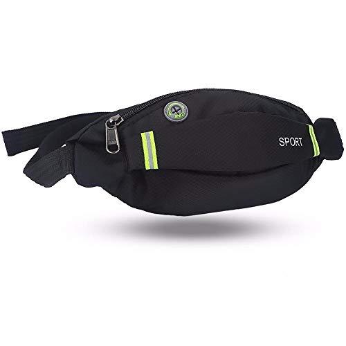 Ejecución de la cintura del recorrido del bolso paquete del deporte del ciclismo correa del bolso de Fanny bolsa de la cintura al aire libre que compite con la gimnasia de Senderismo monedero del dine
