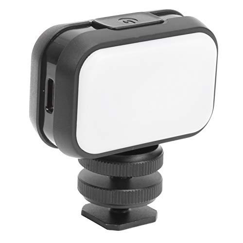 FECAMOS Luz de Relleno, luz de Relleno portátil Fuente de luz Suave Fácil de operar para Video Luz de Relleno para la Familia para Exteriores