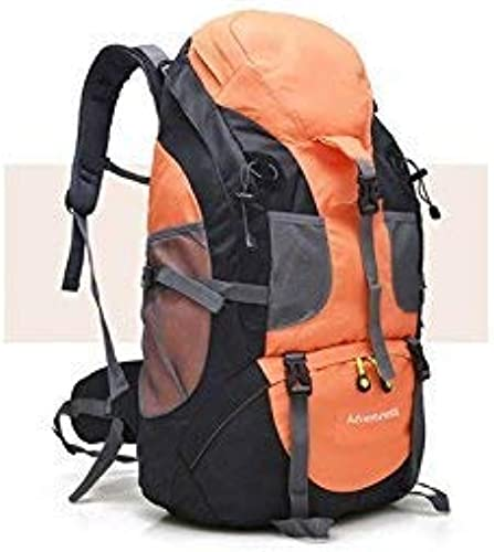 Mode-Unisex-Reiserucksack, Outdoor und Indoor Herren Damen Sport Outdoor Klettern Tasche Wanderrucksack (Orange)