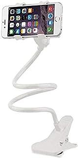 MARGOUN Lazy Bed Desktop Bracket Mount Stand Universal Flexible 360 Clip Holder For Mobile Phone (White)