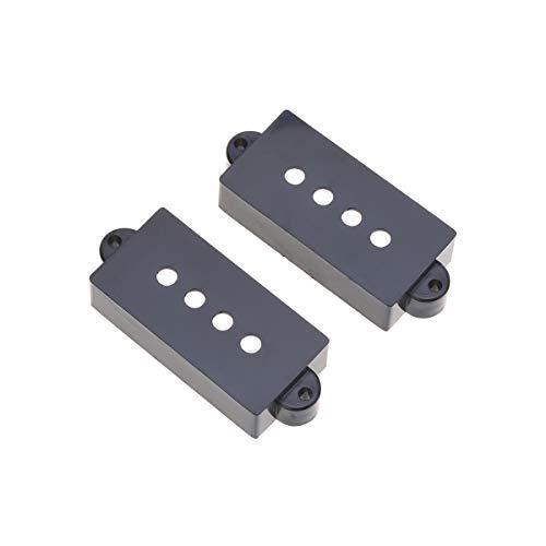 Musiclily Pro Plástico Precision Bass Cubiertas Pastillas Sin Agujeros Set para Fender...