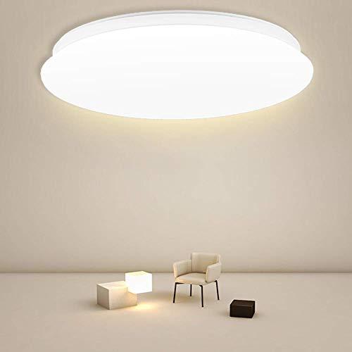 BULING 15W Deckenlampe LED Neutralweiß 4000K 1500LM, Deckenleuchte Rund IP44 für Schlafzimmer, Kinderzimmer, Küche, Badezimmer, Garage