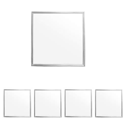ECD Germany 4 x Panneau LED 36W - 60 x 60 cm - Ultra mince - SMD 3014 - Blanc Neutre 4000K - 220-240 V - Environ 3120 lumens - Plafonnier encastré
