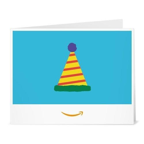 Amazon.de Gutschein zum Drucken (Amazon Geburtstagshut)