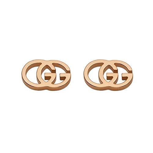 Gucci Damen-Ohrstecker Vergoldet YBD09407400300U