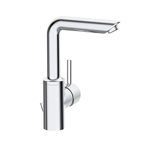 Hansa vantis Style Einhand Waschtisch hoher Auslauf Bremshebel links Pin C/V Chrom (52542287)
