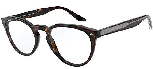 Armani 0AR7186 Gafas, Havana, 49 para Hombre