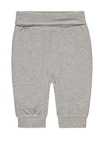 Bellybutton mother nature & me Bellybutton mother nature & me Unisex Baby Jogginghose, Grau (Recycle Gray Gray 8377), (Herstellergröße: 74)
