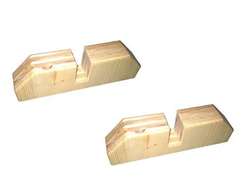 Holzständer / Standfuß SLOWI für Vitalheizung Heizpaneele victory oder premium, Vitalheizung