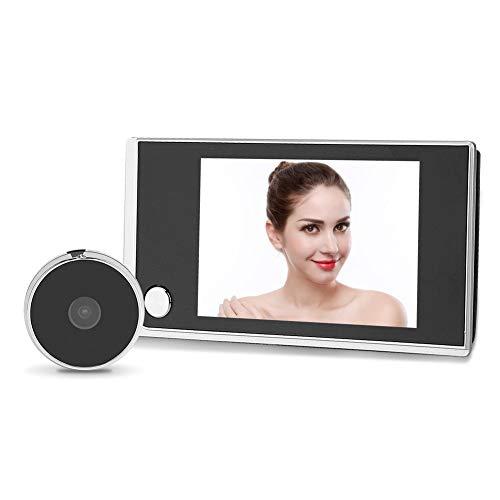 3.5 LCD Digital Mirilla Visor Timbre con 120 ° Gran Angular Lente grabación de vídeo Foto grabación