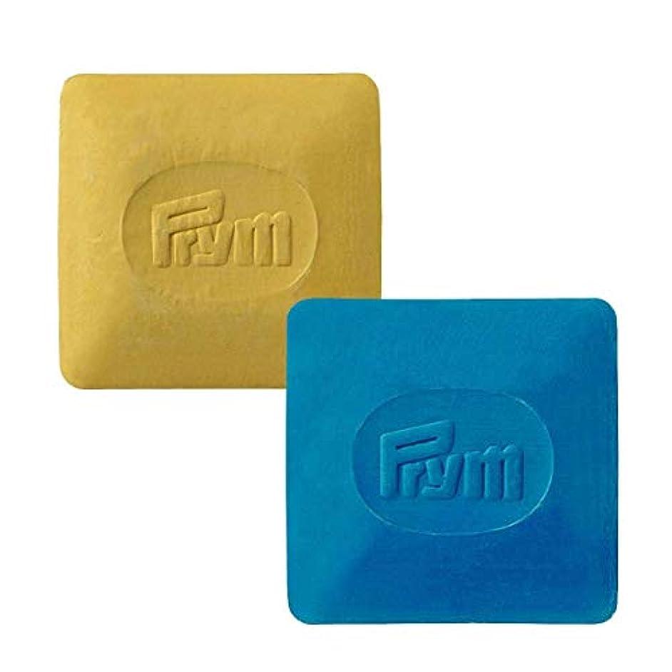 Prym Dressmaker's chalks 2 pieces (blue/yellow)