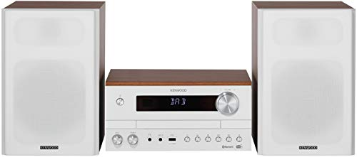 Kenwood M-820DAB-W Micro HiFi-System mit CD, USB, DAB+ und Bluetooth Audio-Streaming