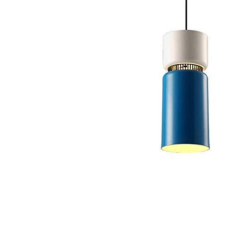 BOSSLV Lampes Murales de Lavage Lampes Lumières Spots Eclairage Nordique Contemporain Simple Pendentif Lumière Art de Fer Macarons Couleurs Salon Créatif Petit