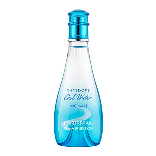 Davidoff Cool Water Woman Caribbean Summer Eau de Toilette Vapo, 100 ml