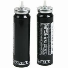 Cork Pops CO2 Cartridge Bottle Opener 2 Refills by Cork Pops