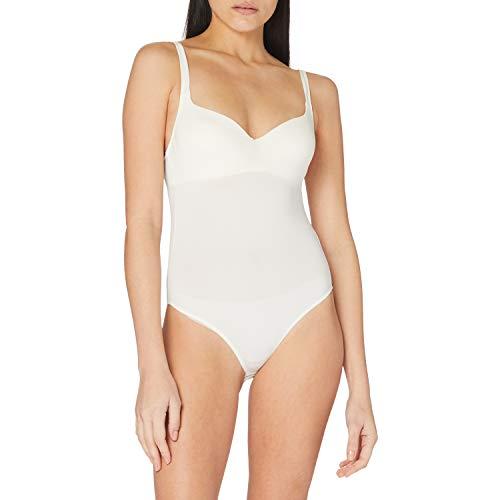 Sassa - Body copa blanda para mujer, Blanco (Elfenbein 00314), talla alemana: 75C (Herstellergröße:75C)