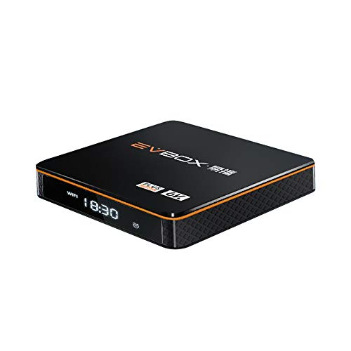 易播 EVBOX Plus 8 Core CPU Processor 4G RAM+32G ROM 6K Android TV Box