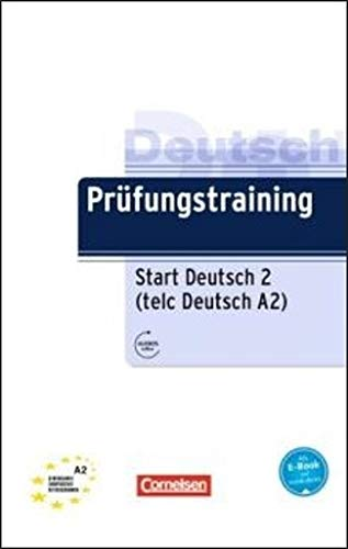Prüfungstraining DaF: A2 - telc Deutsch A2: Übungsbuch mit Lösungen und Audio-Dateien als Download: bungsbuch mit Lsungen und Audio-Dateien als Download