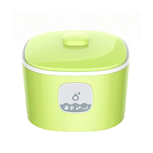 ZSQAI Alte Joghurtfermentationsmaschine, hausgemachte probiotische Fermentationsjoghurtmaschine (Farbe : Green-Glass Liner*1)