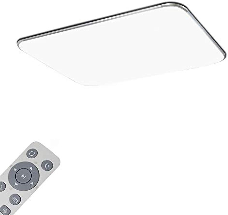 Dimmbar Deckenchte LED Deckenlampe 72W Deckenleuchten ...