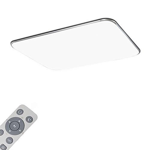 Deckenlampe LED Deckenchte Dimmbar 72W Wohnzimmer Lampe Modern Deckenleuchten Kueche Badezimmer Flur Schlafzimmer
