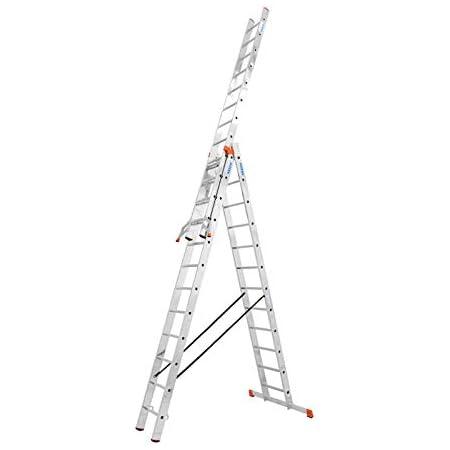 Leiter mit 3x12 Sprossen