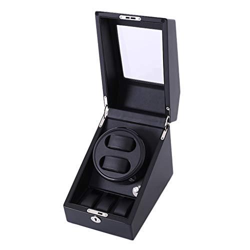 XXSW Caja de visualización para relojes automáticos, caja de reloj de almacenamiento automática, caja de visualización de lujo (color : estilo B)