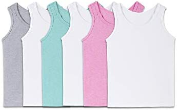Fruit of the Loom Girls Undershirts Camis Tanks Toddler Tank 6 Pack Assorted 2T 3T product image