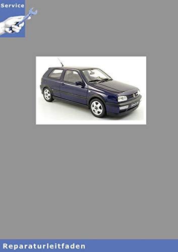 VW Golf III, Typ 1H (91-01) Karosserie-Instandsetzung - Reparaturanleitung