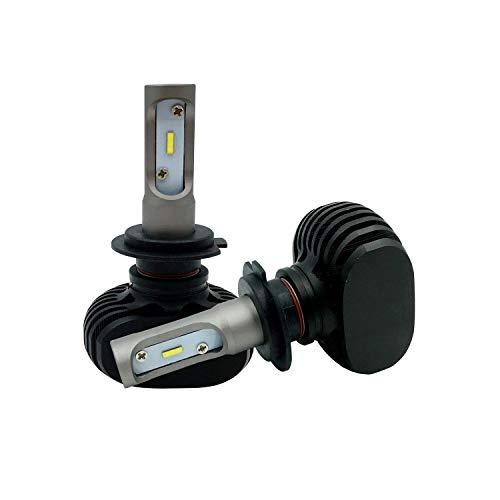LEDKIA LIGHTING H11 15W LED lampen set voor auto's en motors Koel wit 6000K