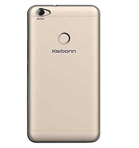 BKED® 1pc Back Cover for Karbonn Frames S9 Soft Silicone Clear Transparent Back Case Cover for Karbonn Frames S9 (Top Selling) by Bk Enterprise