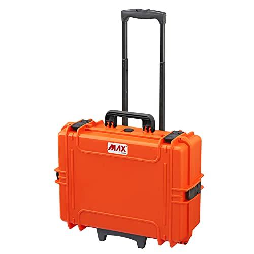 MAX Charge maximale max505str. 001 étanche et hermétique Cas Orange
