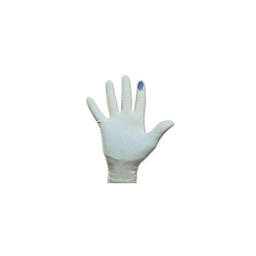 Biogel 41455PI Anzeige System Synthetik Handschuhe, Größe 5,5, Blau (100Stück)