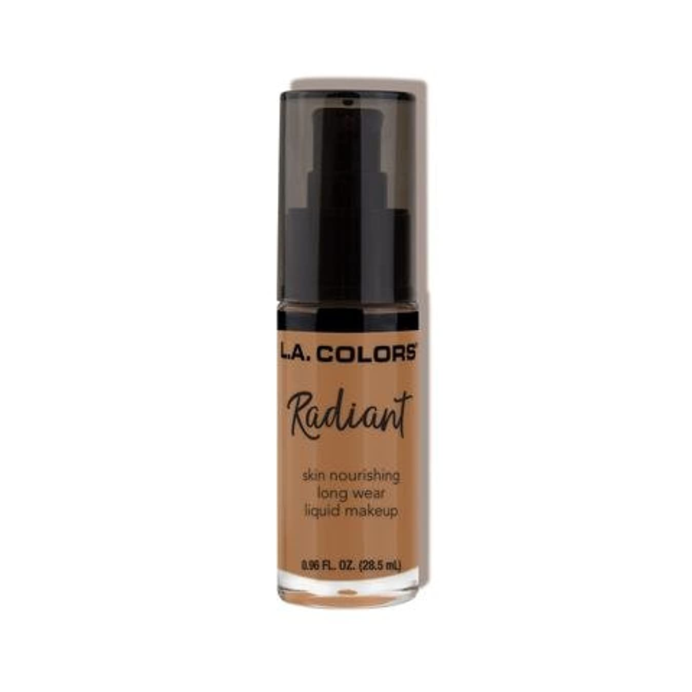 報復する生き残り拳(6 Pack) L.A. COLORS Radiant Liquid Makeup - Chestnut (並行輸入品)
