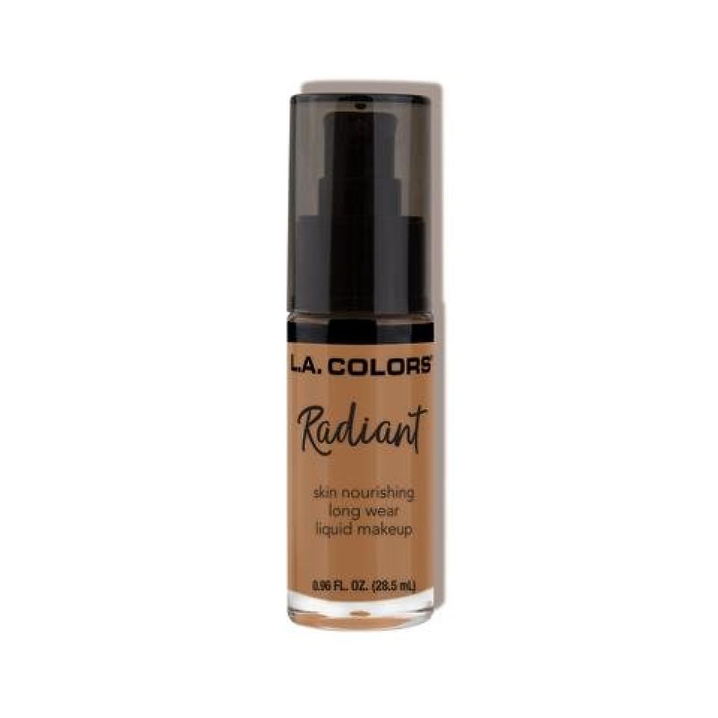 収益咳梨(6 Pack) L.A. COLORS Radiant Liquid Makeup - Chestnut (並行輸入品)