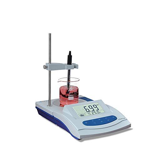 CGOLDENWALL PHS-3G pH-Messgerät Digitaler pH-Messgerät Hochpräziser pH-Messgerät Säure-Messbereich Flüssigkeitsmesser pH-Messbereich für Wissenschaftslabor Haushalt Trinken Pool Aquarium Wasser