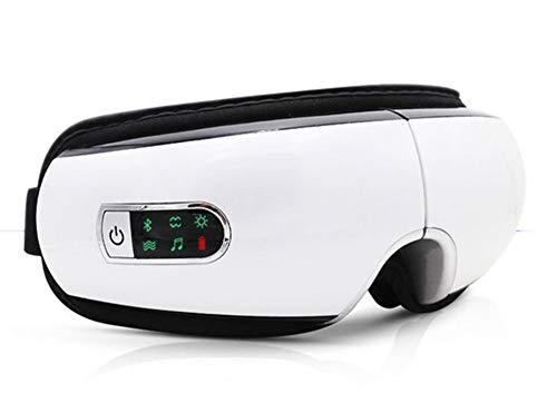 Preisvergleich Produktbild GAOword Intelligentes Augenmassagegerät Eye Care Wireless Tragbares Wiederaufladbares Elektrisches Bluetooth-Augenmassagegerät Luftdruck-180 ° Faltbar Für Augenermüdung Trockene Augen Und Augenringe