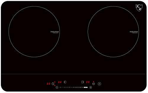 K&H® Doppel SLIM SLIDER Control Induktionskochfeld DIN-3502SLx