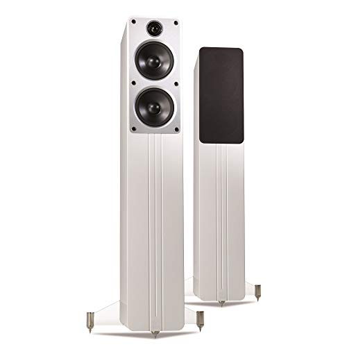 Q Acoustics Concept 40 Floorstanding Speaker Pair (Gloss White)