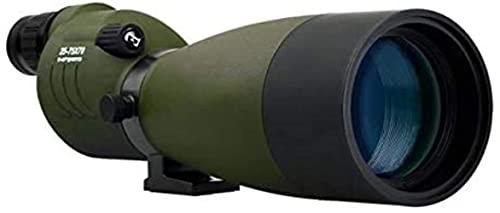 25-75X70 Telescopio Zoom Alcance Dv17 BAK4 Prisma Revestimiento de Lente Caza Monocular Espejo óptico al Aire Libre Impermeable, Utilizado para Caza, Tiro, Tiro con Arco, observación de Aves