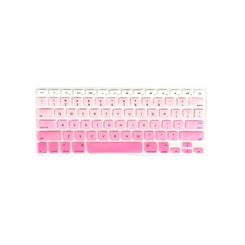 Membrana della tastiera Colorful Silicone Keyboard Cover Laptop Skin Notebook Protector For 11' 13' 15' Macbook Air Pro Retina 5 Style,Beige