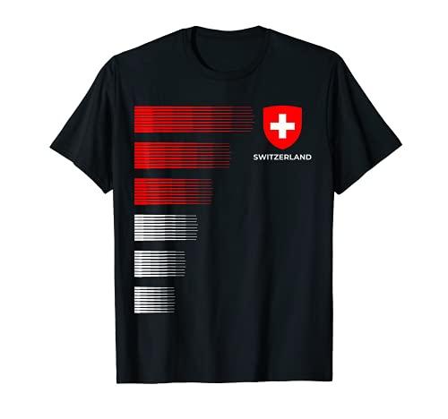 Schweiz Fussball Trikot - Swiss Soccer T-Shirt