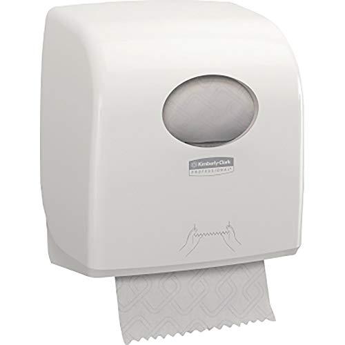 2 Rotoli x 100 m a 1 Velo bianco Kleenex 6767 Rotolo per asciugamani  Slimroll