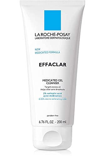 Medicated Gel Acne Face Wash by La Roche-Posay Effaclar