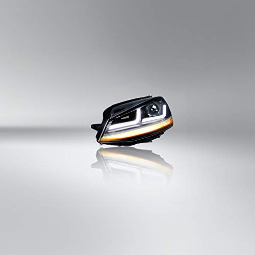 Osram Ledriving LED Scheinwerfer, Chrome Edition als Halogenersatz zur Umrüstung auf LED, LEDHL103-CM, für Linkslenkerfahrzeuge (1 Komplett-Set)