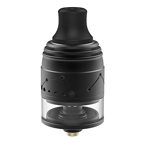 Vapefly Galaxies MTL Squonk RDTA flavor vaporizer fit squonk box mod with BF pin Kein Nikotin, keine E-Flüssigkeit (Schwarz)