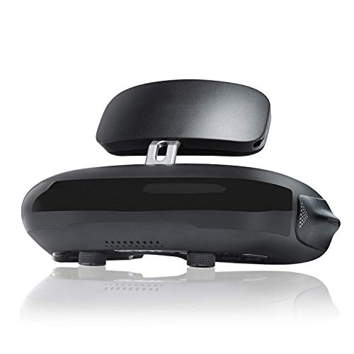 QLPP Casque VR Lunettes de théâtre 3D, Lecteur de Blu-Ray avec écran HD 1920x1080x2 HD, Compatible avec la visionneuse 3D, Compatible avec Le boîtier décodeur DJI Drones PS4