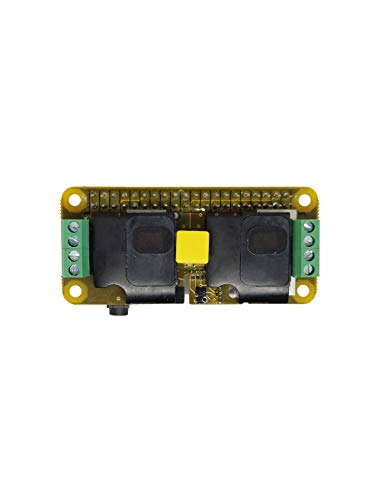 RASPIAUDIO Audio DAC HAT Sound Card (Audio+Speaker+MIC) for Raspberry Pi Zero/A+ / B+ / Pi 3 : Pi 4 Model B/Better Quality Than USB