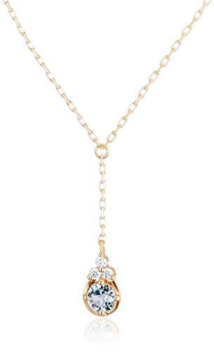 [VAヴァンドーム青山] ダイヤモンド 0.01ct イエローゴールド K10 ネックレス GJVN038040AQ