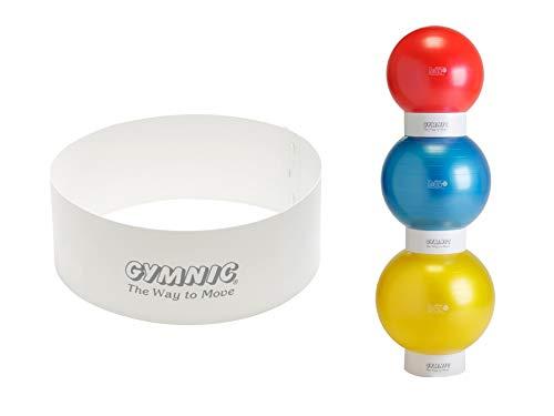 Gymnic Stapelhilfe transparent Stapler für Gymnastikbälle große Bälle Pezzi Ball